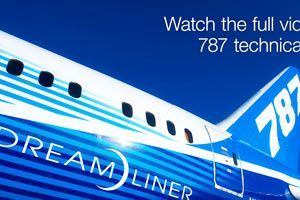 image: 787 Dreamliner lithium ion batteries freight carriage Boeing