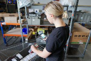 image: Germany auto parts dealer logistics warehouse Zetes Augustin group PSA Fiat