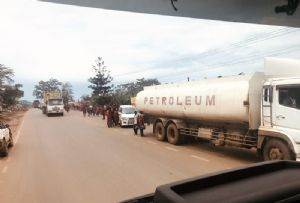 image: Uganda transport logistics charity Transaid road crash