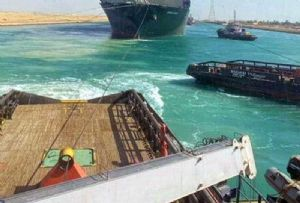image: Egypt, Coral Crystal, Ever Given, shipping, Suez, Canal, ship, bulk, carrier, container, vessel, supply chain, delays, tugs,