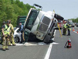 image: US freight truck drivers sleep apnoea apnea bus congressmen American trucking Association Teamsters union