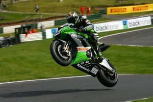 image: UK freight forwarder superbike Kawasaki ZX-10R import export cross trade truck