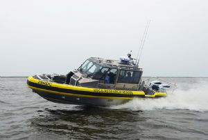 image: US, Robocop, autonomous, vessel, Coast Guard, Homeland Security, Metal Shark, Sea Machines,