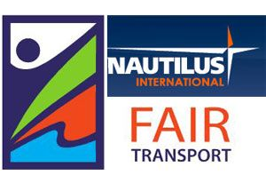 image: IMO seafarers union FairTrade merchant vessels freight transport shipping Nautilus