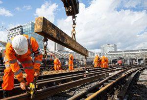 image: UK Nicola Shaw CBE rail freight report HS1 RFG CBI efficient railway van