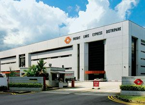 image: Singapore project freight forwarding logistics warehouse facilities property management