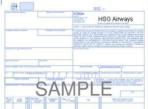 image: IATA air freight forwarders cargo carriers e AWB FIATA GACAG