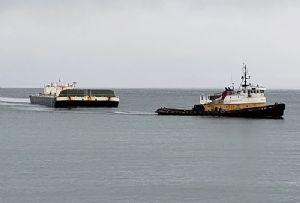 image: US, Crowley, Alaska, maritime, logistics, Eareckson Air Station, Aleutian Island,