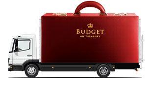 image: UK Budget road haulage freight transport warehousing fuel duty frozen