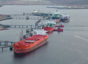 image: GAC UK Dubai freight forwarding and logistics energy offshore tanker hub Shetland Lerwick