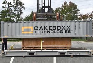 image: US Ceva CakeBoxx Technologies container freight box cargoes high security