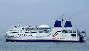 image: Sea France RoRo freight ferry shipping group