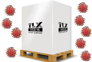 image: UK US TLX Cargo coronavirus Covid-19 freight pallet cold supply chain