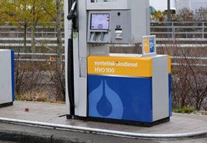 image: Nordic Norway Sweden Finland freight logistics road haulage HVO 100 biofuels supply chain