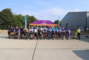 image: UK, Transaid, transport, logistics, charity, Ride for Life, War of the Roses, cycle, P F Whitehead, Johnson,