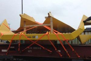 image: Hawaii UK anchor project freight forwarding cargo shipment flat rack container