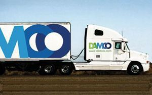 image: Danish Damco freight forwarding supply chain logistics tonnage