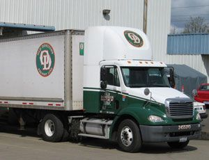 image: US road haulage LTL carrier freight forwarding Old Dominion ODFL Fort Wayne Indiana Ohio Michigan rate tariff