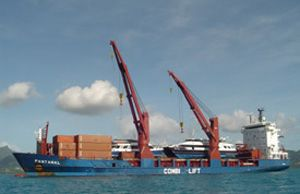 image: Ireland cargo ferries heavy lift project freight