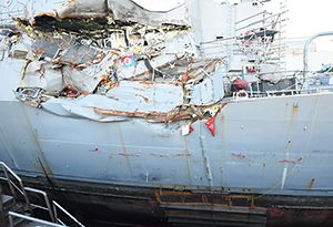 image: US Navy USS John S McCain Fitzgerald collision death sailors vessel warship