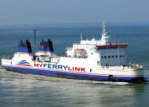 image: MyFerryLink Eurotunnel SeaFrance UK RoRo ferry freight Competition Commission