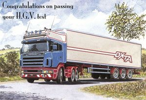 image: UK Road Haulage freight operator DVLA VOSA heavy goods vehicles