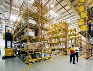 image: Hong Kong MOL DHL Freight logistics container shipping supply chain