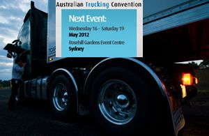 image: Australia truck freight road haulage operator truckers Sydney Trucking