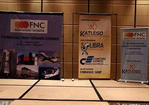 image: UK freight forwarders logistics conference Afghanistan Zimbabwe FNC