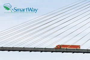 image:  Schneider SmartWay Freight Transport road haulage logistics US
