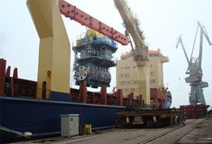 image: Japan Bulgaria heavy lift project forwarding cargo container bulk tonnes deadweight