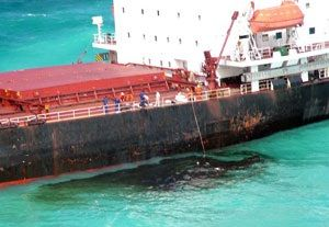 image: US pollution oil waste water DSD shipping line tanker