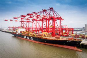 image: shipping Liverpool logistics supply chain haulage msc