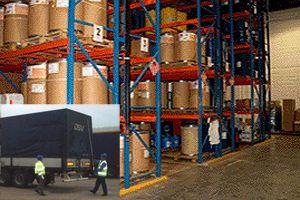 image: DSV freight transport SQAS shipping hazchem explosives logistics terminal