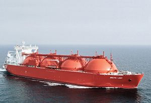 image: Japan Liquefied Natural Gas LNG freight passenger vessels merchant shipping