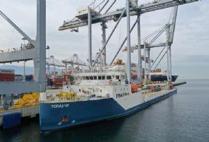 image: Turkey, Asia, Russian, river, sea, container, breakbulk, shipping, P&O, DP World,