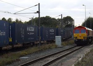 image: DB Schenker rail cargo road freight Malcolm logistics