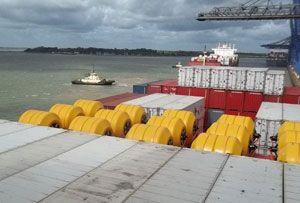 image: UK Turkey Cyprus water Allseas Global Logistics Trelleborg cargo ports freight