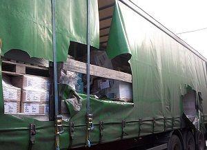 image: Denmark road haulage theft logistics cargo freight