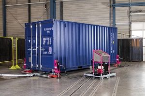 image: SOLAS VGM container weighing portable freight