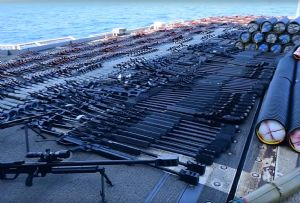 image: Muslim, Sunni, Ed Nash, munitions, weapons, US, seized, Iran, Arab, dhow, Military, Matters,