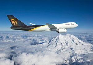image: Boeing US UPS heavy cargo aircraft 747-400F 747-8 freighter