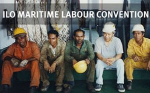 image: Maritime Labour Convention merchant shipping ocean freight