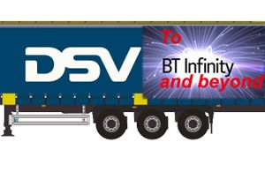 image: BT DSV cargo ocean freight and logistics China import