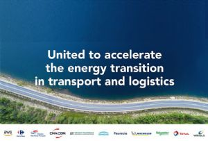 image: Amazon, Web Services, logistics, transport, shipping, clean, energy, CMA CGM, coalition, environmental damage, W�rtsil�