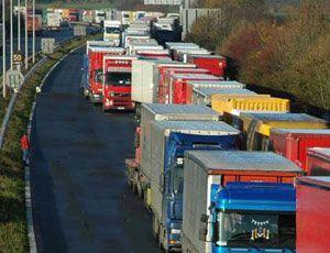 image: UK France international road haulage RoRo ferry freight