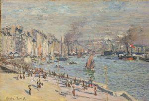 image: France, Le Havre, 5G, Claude Monet, Smart Port City, tonnages, tonnes, TEU, shipping, lines,