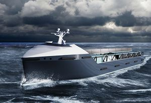 image: Netherlands Port of Rotterdam autonomous freight and passenger vessel technology