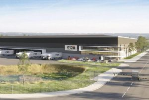 image: UK Port of Felixstowe Hutchison Curzon de Vere One Logistics Park Anglian Building Services Isherwood container