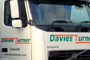 image: UK Davies Turner freight forwarder logistics distribution foodstuffs storage security